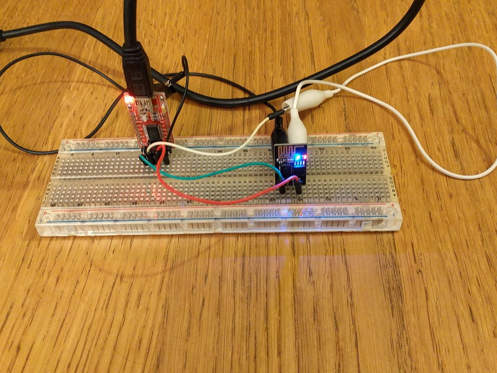Adventures with the ESP8266